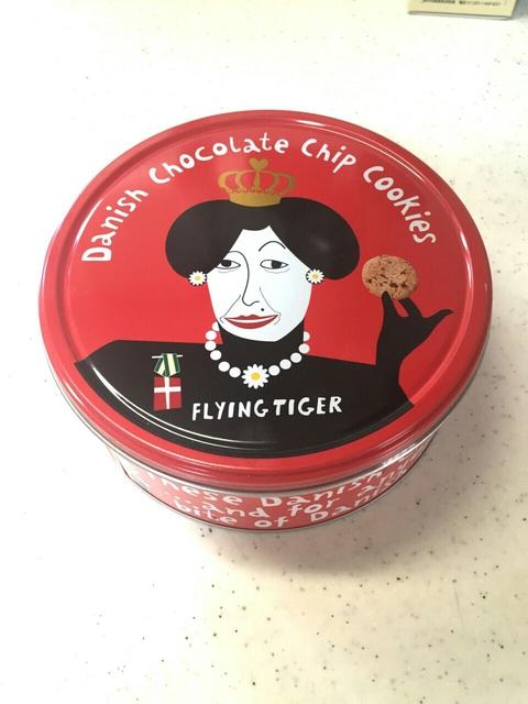 フライングタイガーチョコチップクッキー赤缶をとことん調べました!